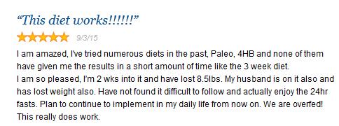 3-week-diet-user-review