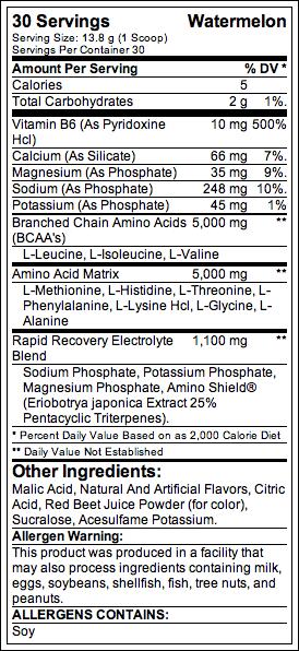 aminolytes-supplement-facts