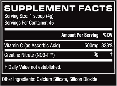CN3 Supplement Facts