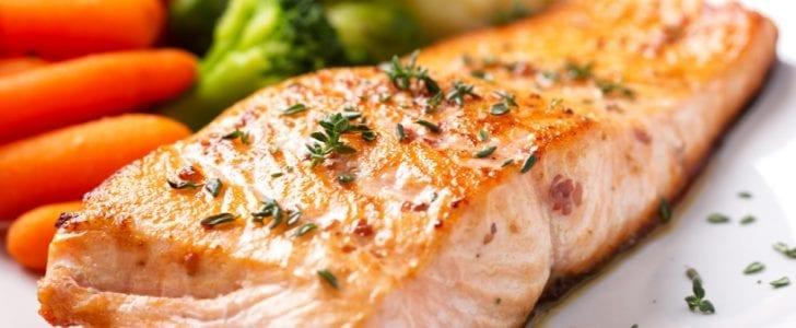 Salmon is quite abundant in Omega-3.