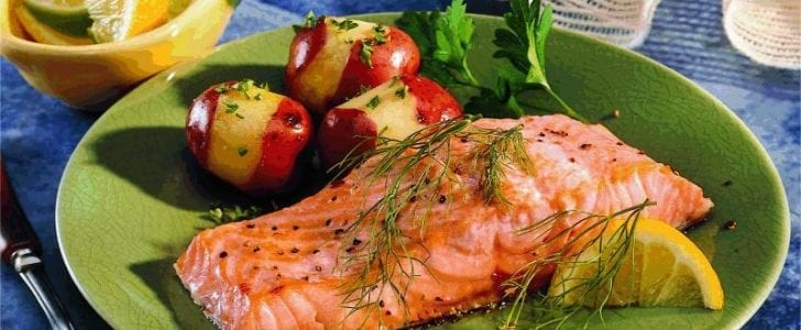 Fish is quite rich in Vitamin D.