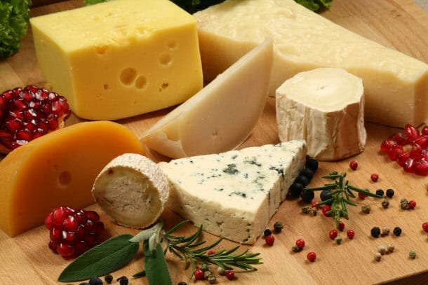 Cheese is abundant in Vitamin D as well.