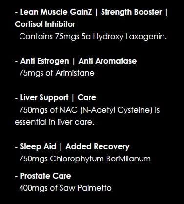 GainZ Insurance Ingredients