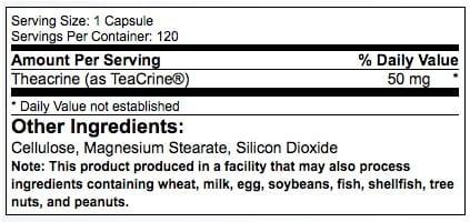 teacrine-ingredients