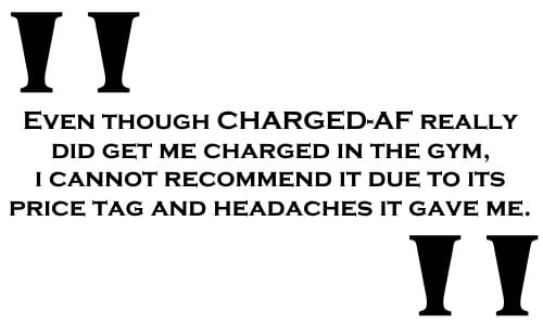 CHARGED-AF Reviews